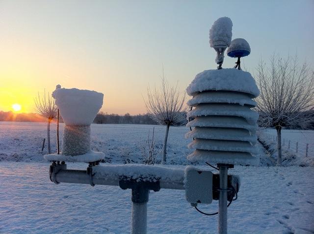 sneeuw weeropdeveluwe foto's fotografie Gerhard Witteveen