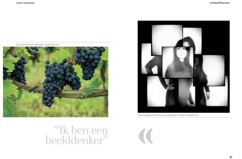 """""""Ik ben een beelddenker"""" artikel in eigen! magazine"""