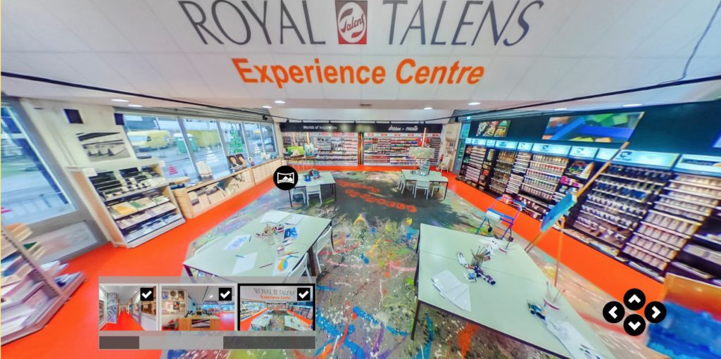 virtual tour - royal talens experience center