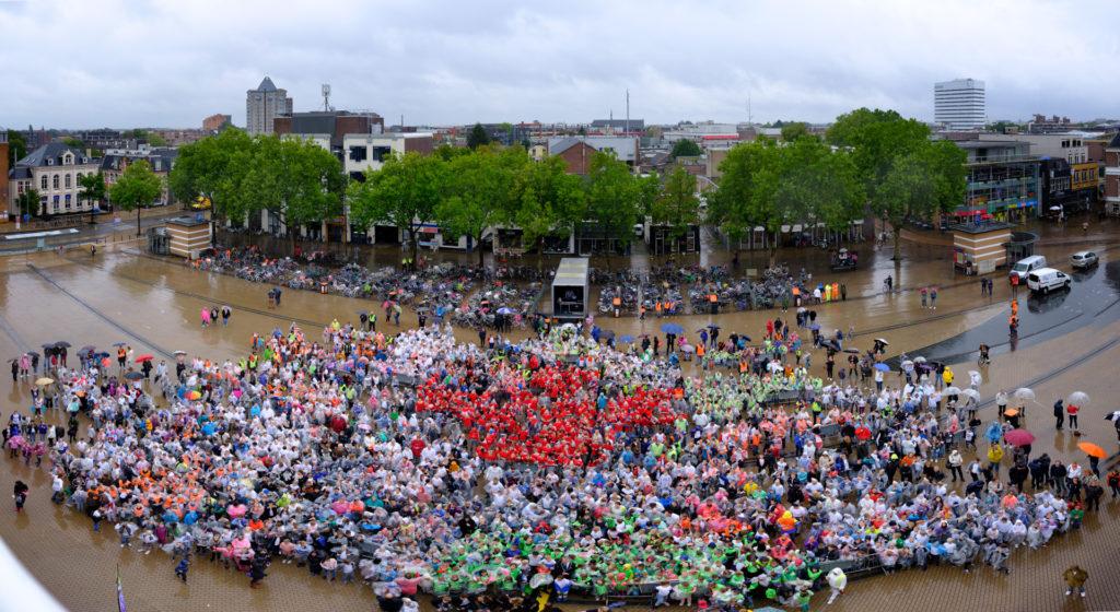 Gigapixelfoto kickoff Serious Request Apeldoorn 2017