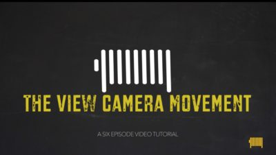 The View camera movement Video tutorial, Logo and videoleader